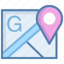 geographical location, global position, gps, locations tracker, maps, route planning icon