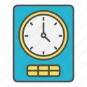 clock, delivery time, time, tracking icon