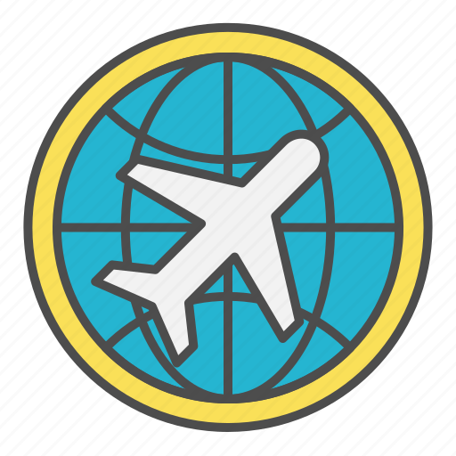 Airmail, cargo, global, globe, international icon - Download on Iconfinder