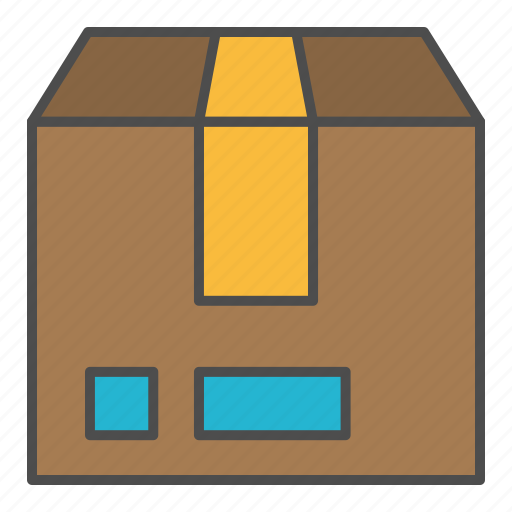 delivery, package, parcel, side icon