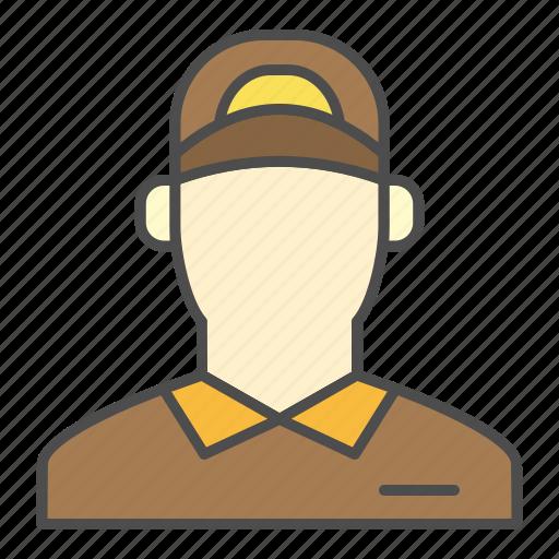 Arrival, delivery, order, postman, ups icon - Download on Iconfinder