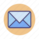 contact, email, envelope, letter, mail icon