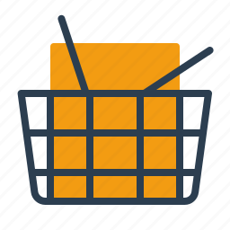 basket, consumer, goods, shop icon