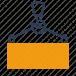 container, crane, loading, logistics icon