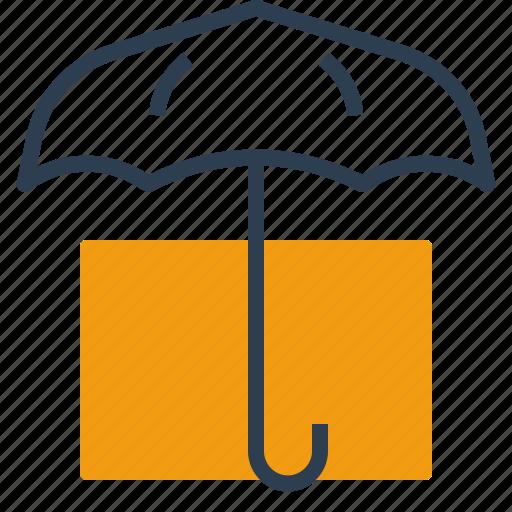 insurance, safe, safety, umbrella icon