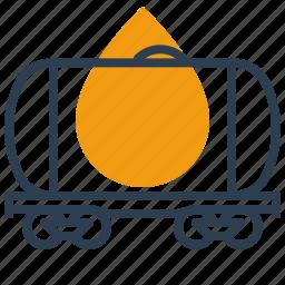 cistern, gas, oil, tank icon