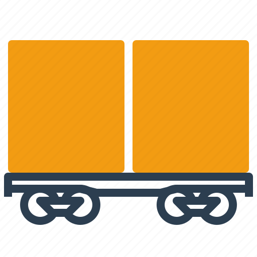 container, logistics, railway, transport icon