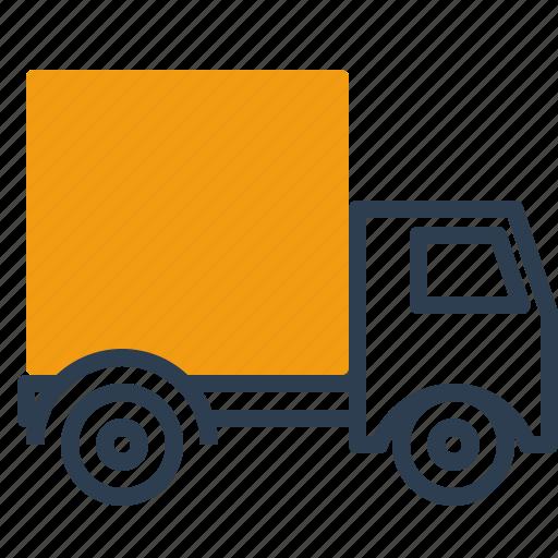 delivery, haulage, truck, van icon
