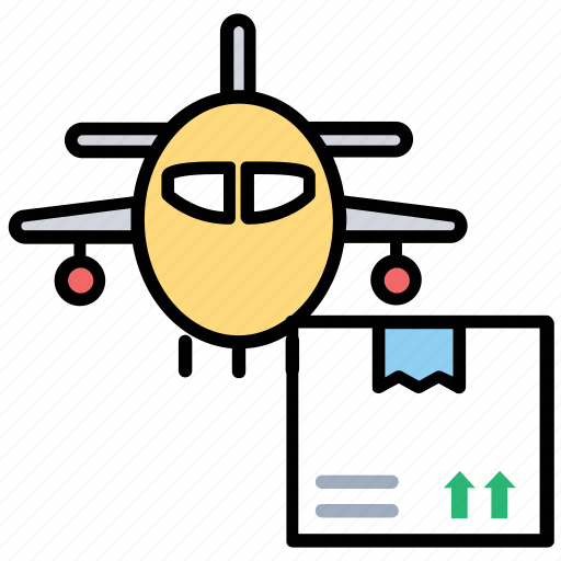 Air cargo, air cargo service, air logistics, airfreight, overseas cargo icon - Download on Iconfinder