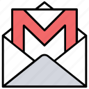 connect, envelope, letter, mail, newsletter icon