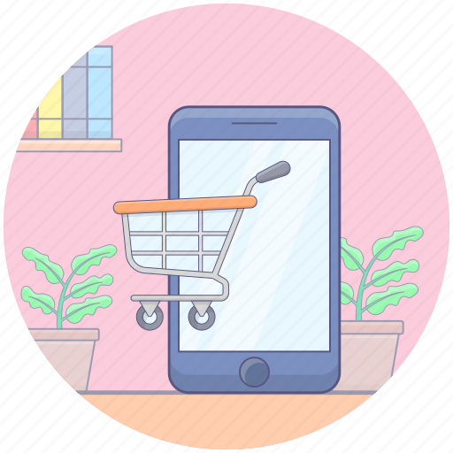ecommerce, internet buying, internet purchasing, online order, online shopping icon