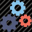 cogs, cogwheel, configure, gear, setting