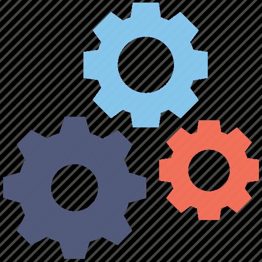 cogs, cogwheel, configure, gear, setting icon