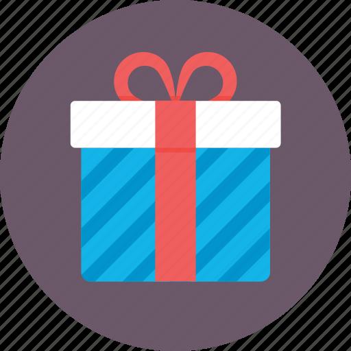 gift, gift box, hamper, present, surprise icon