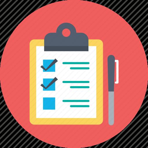 checklist, list, memo, task, to do icon