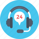 call center, consultant, customer service, headphone, helpline icon