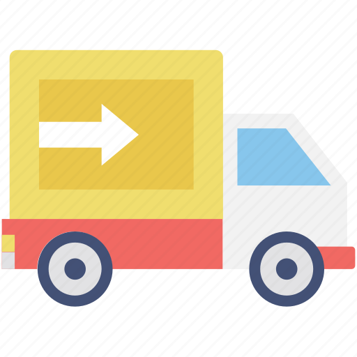 cargo, delivery, shipping, truck, vehicle icon