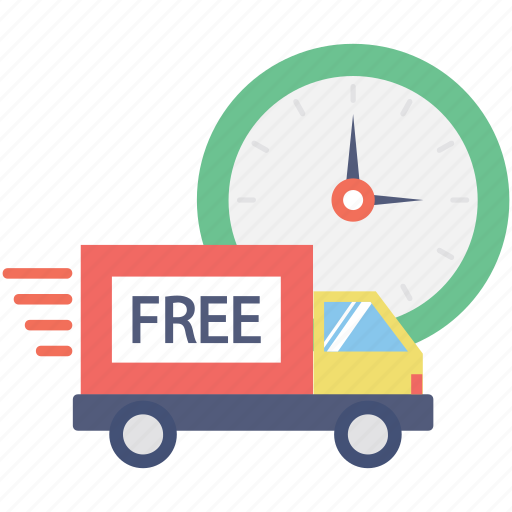 cargo, free delivery, free shipping, shipment, truck icon