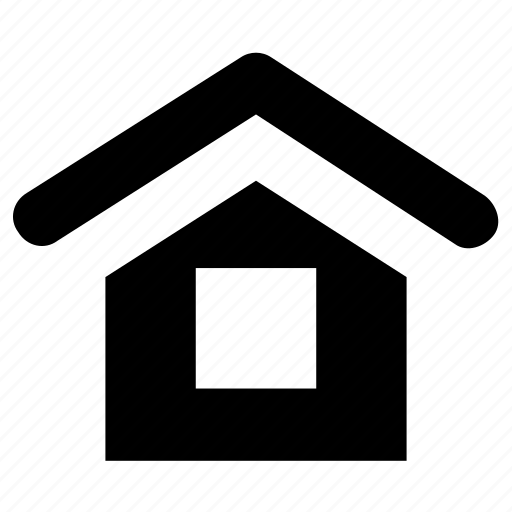 building, home, house, hut, lodge icon