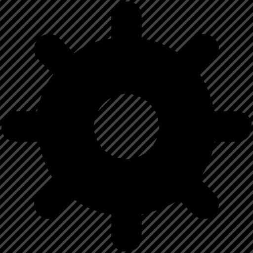 cog, cogwheel, configure, gear, setting icon