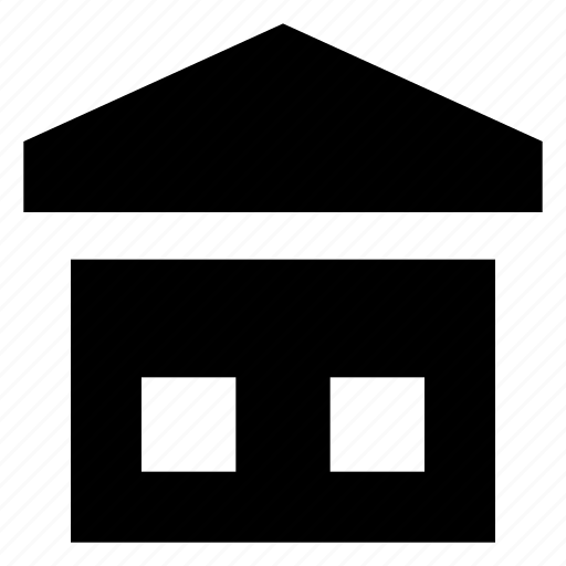 godown, packages, storage unit, storehouse, warehouse icon