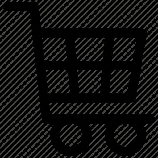 cart, ecommerce, shopping, supermarket, trolley icon