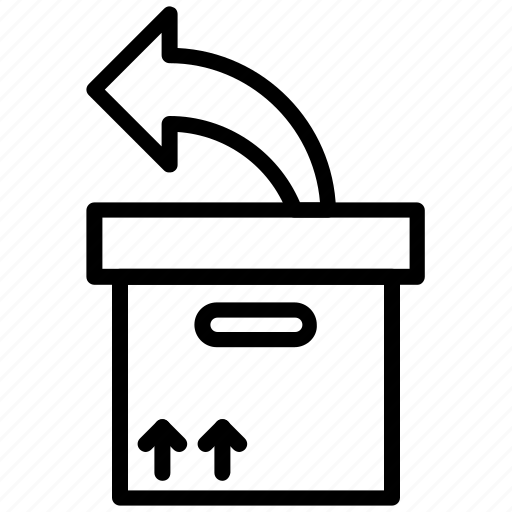 box, delivery, packaging, parcel icon