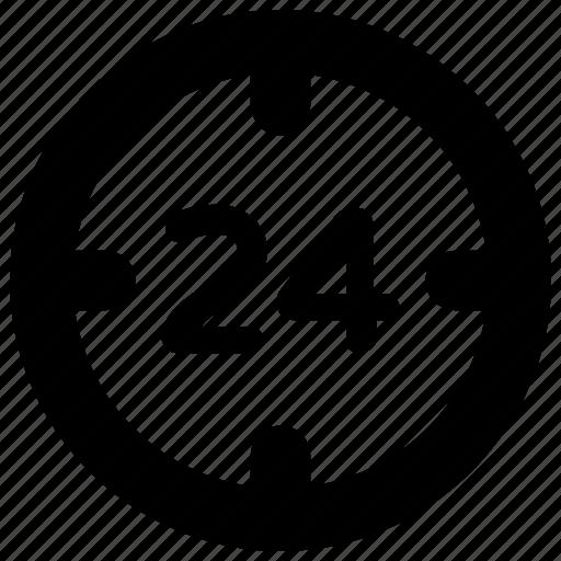 customer service, helpline, service, support, twenty four hours icon