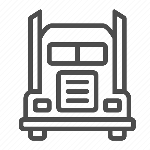 delivery, lorry, transportation, truck, vehicle icon