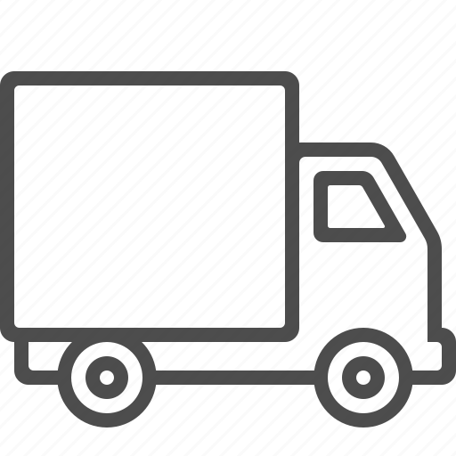 delivery truck, lorry, transportation, truck, vehicle icon