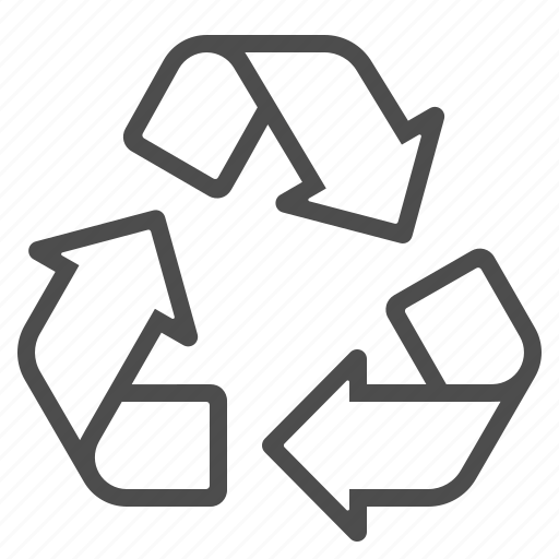 eco, ecology, recycle, recycling, sign, symbol icon