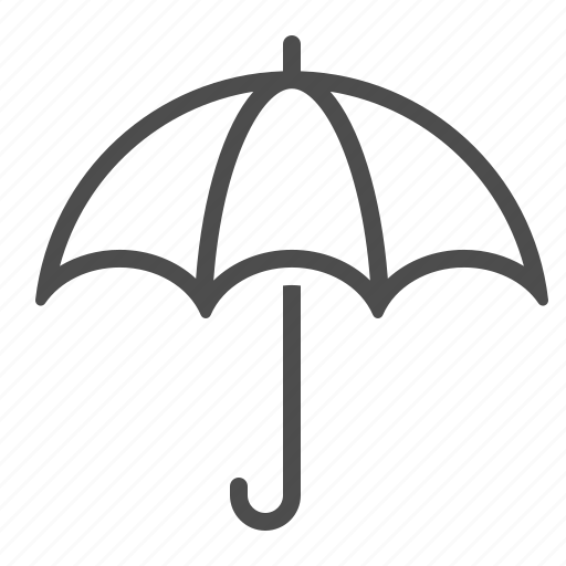 umbrella, weather, wet icon
