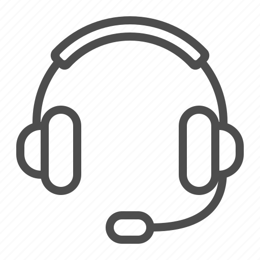 call center, call centre, customer service, customer support, headphones, headset, microphone icon