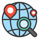 delivery, location, logistic, transport, transportation icon
