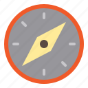 compass, group, job, manager, navigation, shipment, supply icon