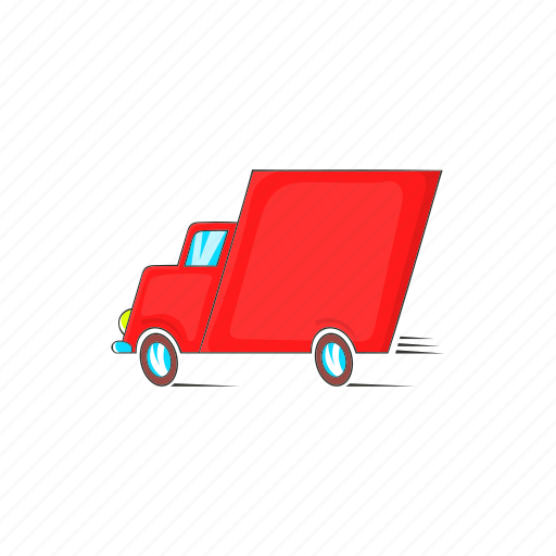 car, cargo, cartoon, delivery, service, shipping, transport icon