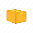 box, cargo, cartoon, package, packaging, shipping, transport