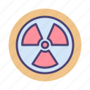 dangerous, goods, hazardous icon