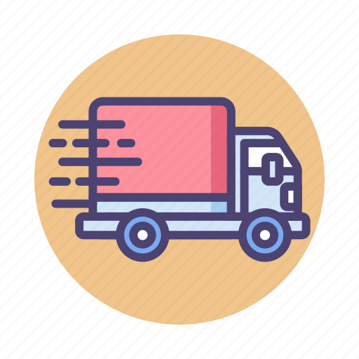 Fast shipping, lorry, truck, logistics icon - Download on Iconfinder