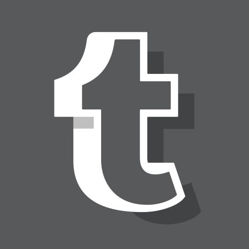 logo, media, online, social, tumblr, tumblr logo, tumblr new logo icon
