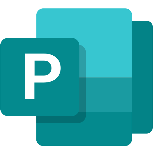 Microsoft, office 365, publisher, software icon - Free download