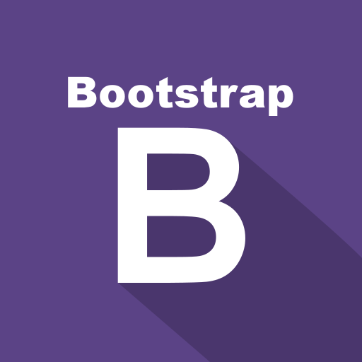 boostrap, front-end, long shadow, preprocessor, web icon