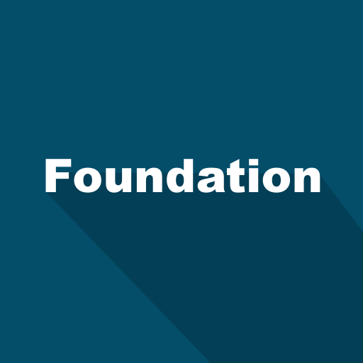 foundation, front-end, long shadow, ui kit, web, web technology icon
