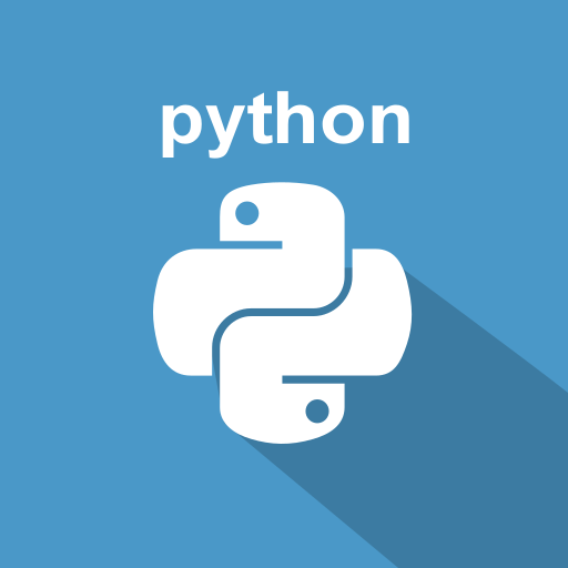 long shadow, python, script language, web, web technology icon