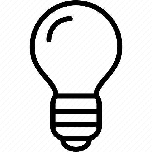 bright, bulb, electricity, idea, lamp, light, lightbulb icon