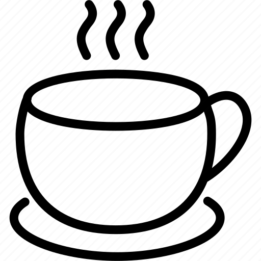 afternoon, breakfast, coffee, cup, drink, hot, tea icon