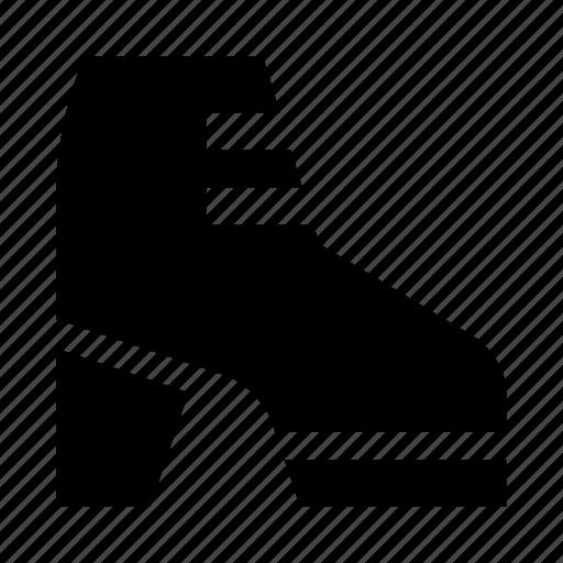 boot, heel, shoe, woman icon
