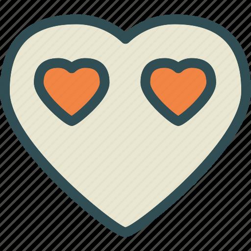 avatar, heart, love, romance icon