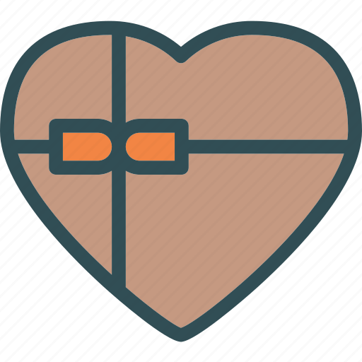 chocolatebox, heart, love, romance icon