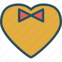 gentleman, heart, love, romance icon